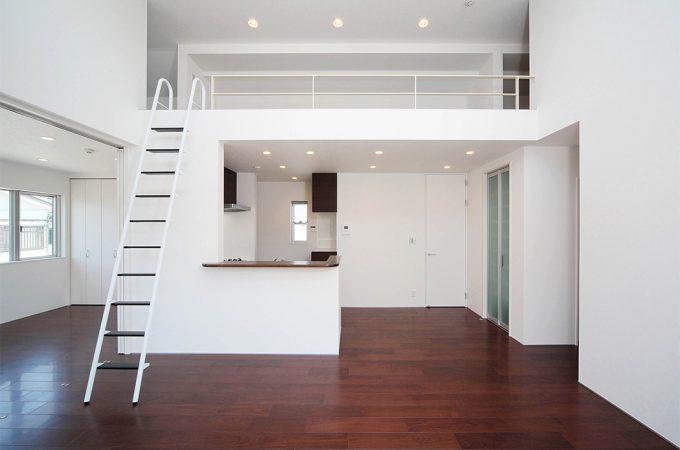 長屋形式の2世帯住宅